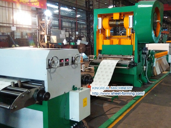 1300MM Width Steel Perforation Line