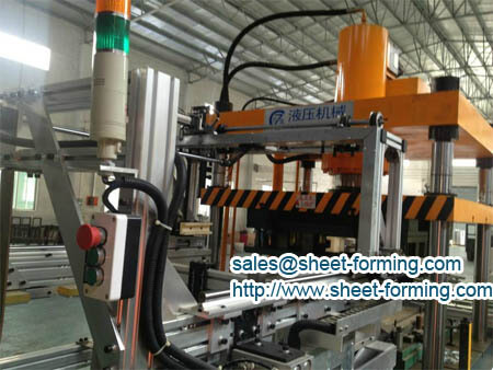 oil press forming machine for perforated ceiling tile