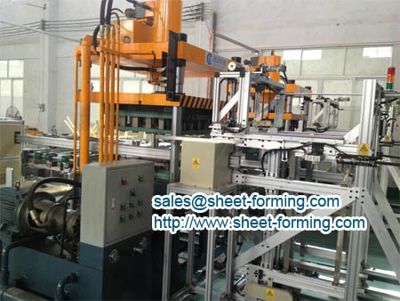 high speed aluminum ceiling tile production line
