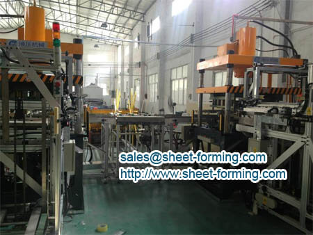 aluminum ceiling plate production line for perforate metal false ceiling