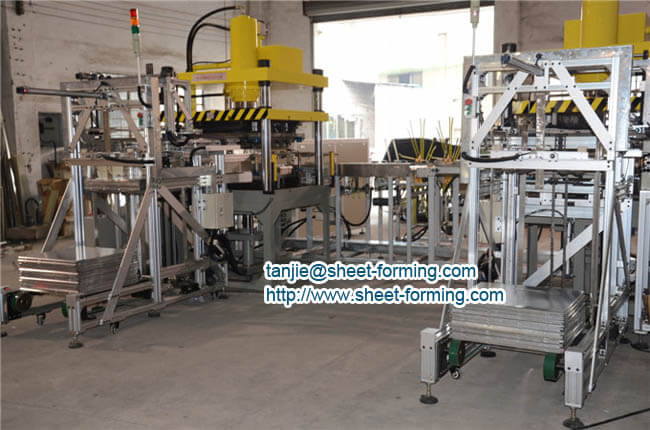 high speed full automatic ceiling tile production line