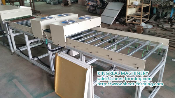 kingreal packing line for textile stick machine