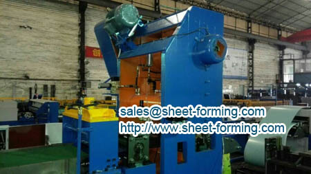 square aluminum ceiling panel production line