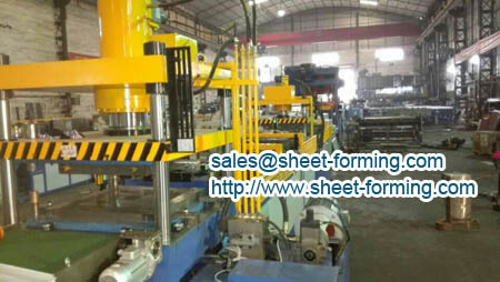 square ceiling panel production line