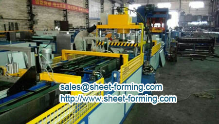 square ceiling tile making machine