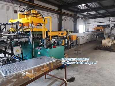 Full Automatic 120X60CM Metal Ceiling Tile Production Line