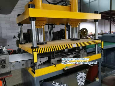 Metal Ceiling Panel Notching Press and Molds