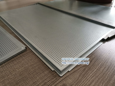Metal Ceiling Panel Perforation Machine