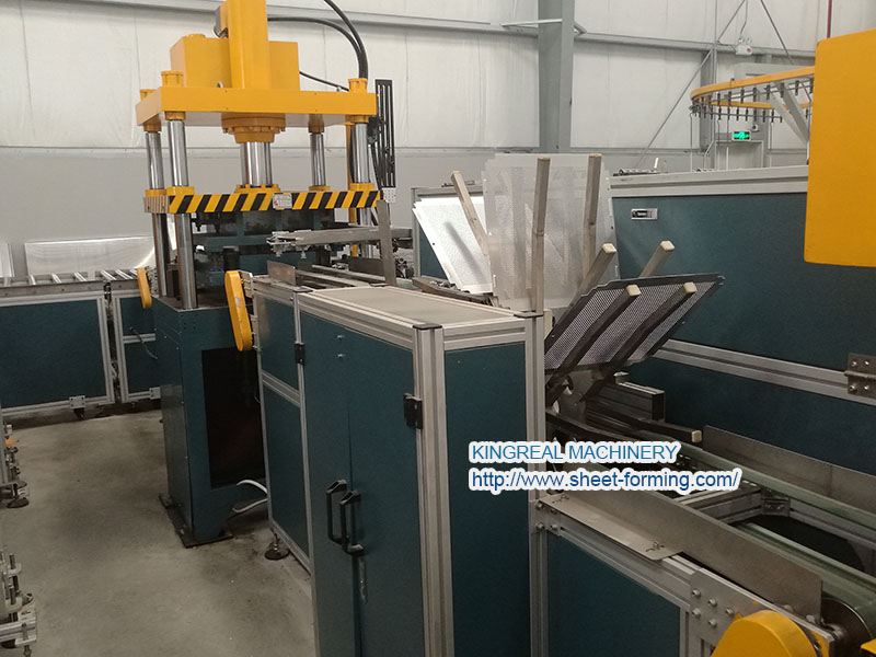 30*30CM suspended ceiling tile making machine