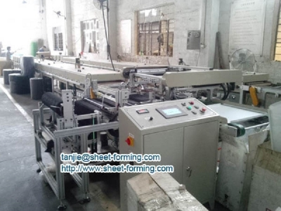 Full Perforated Acoustical Ceiling Tile Textile Stick Machine...