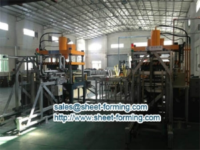 FULL AUTOMATIC 600X600MM PERFORATED METAL CEILING TILES PRODUCTION LINE