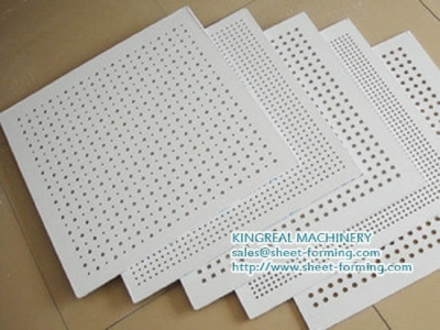 Gypsum Board Perforation Machine