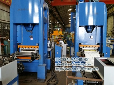 Auto corner cutting and Forming line for Square Metal Ceiling Tile