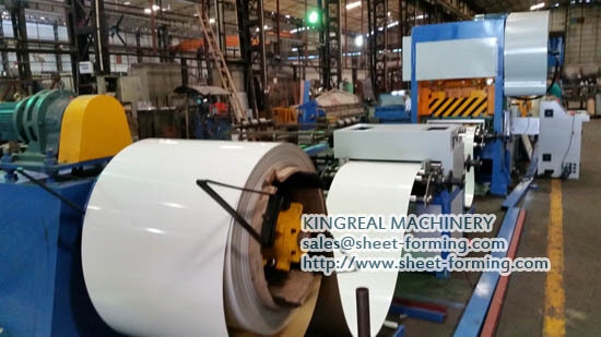 KINGREAL PERFORATED CEILING TILE MAKING MACHINE